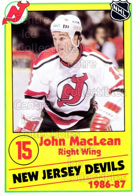 1986-87 New Jersey Devils Police #14 John MacLean<br/>7 In Stock - $3.00 each - <a href=https://centericecollectibles.foxycart.com/cart?name=1986-87%20New%20Jersey%20Devils%20Police%20%2314%20John%20MacLean...&quantity_max=7&price=$3.00&code=25052 class=foxycart> Buy it now! </a>