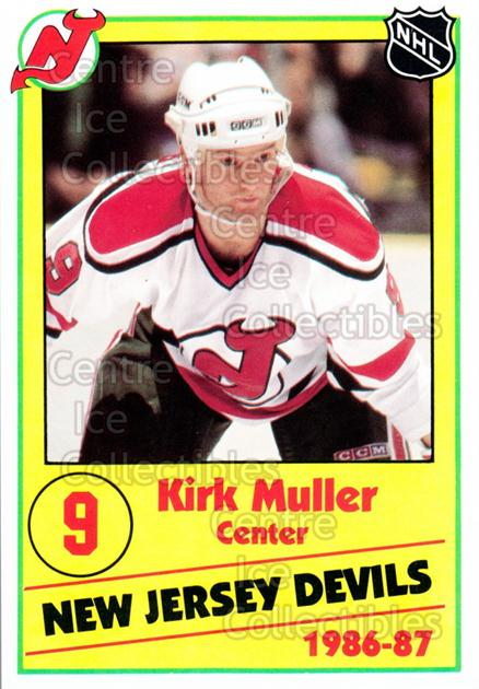 1986-87 New Jersey Devils Police #16 Kirk Muller<br/>6 In Stock - $3.00 each - <a href=https://centericecollectibles.foxycart.com/cart?name=1986-87%20New%20Jersey%20Devils%20Police%20%2316%20Kirk%20Muller...&quantity_max=6&price=$3.00&code=25054 class=foxycart> Buy it now! </a>