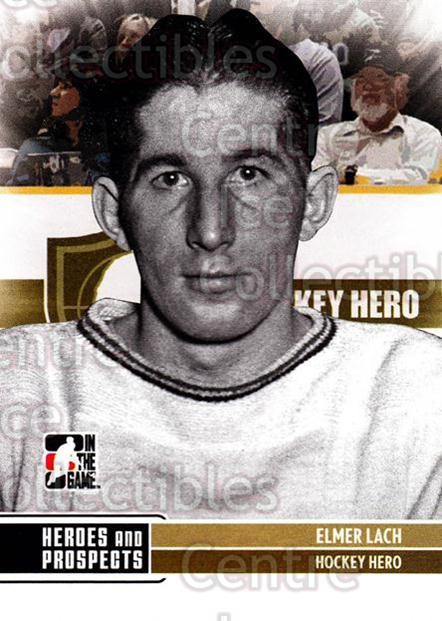 2009-10 ITG Heroes and Prospects #1 Elmer Lach<br/>21 In Stock - $2.00 each - <a href=https://centericecollectibles.foxycart.com/cart?name=2009-10%20ITG%20Heroes%20and%20Prospects%20%231%20Elmer%20Lach...&price=$2.00&code=250585 class=foxycart> Buy it now! </a>