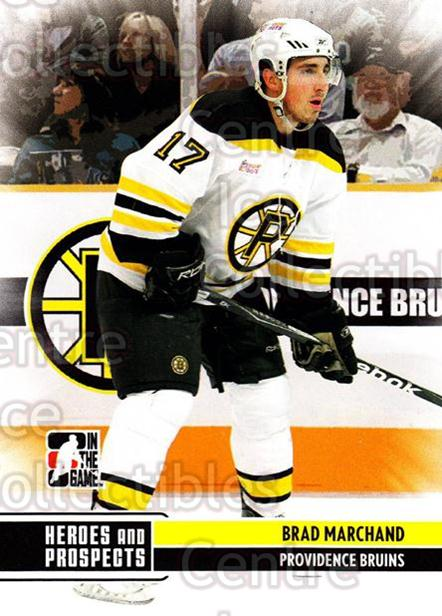 2009-10 ITG Heroes and Prospects #32 Brad Marchand<br/>16 In Stock - $1.00 each - <a href=https://centericecollectibles.foxycart.com/cart?name=2009-10%20ITG%20Heroes%20and%20Prospects%20%2332%20Brad%20Marchand...&price=$1.00&code=250616 class=foxycart> Buy it now! </a>