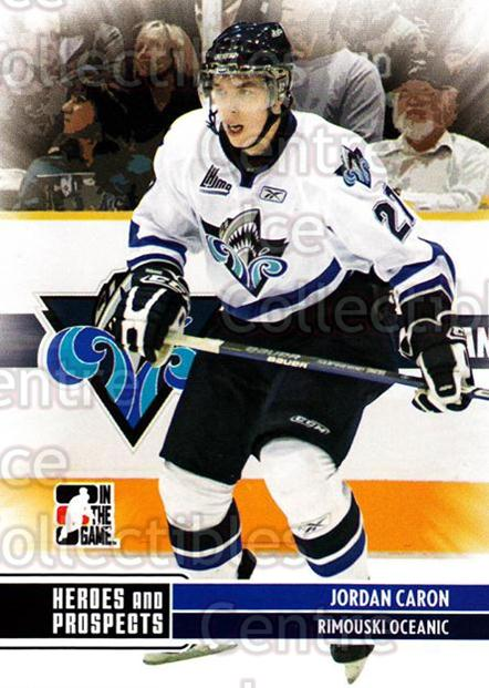 2009-10 ITG Heroes and Prospects #110 Jordan Caron<br/>17 In Stock - $1.00 each - <a href=https://centericecollectibles.foxycart.com/cart?name=2009-10%20ITG%20Heroes%20and%20Prospects%20%23110%20Jordan%20Caron...&quantity_max=17&price=$1.00&code=250694 class=foxycart> Buy it now! </a>