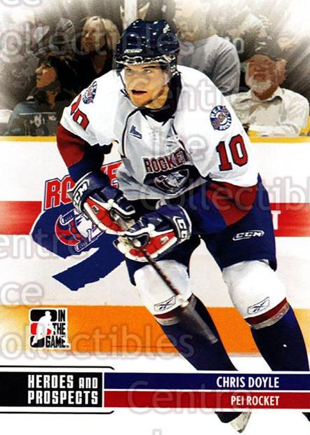 2009-10 ITG Heroes and Prospects #114 Chris Doyle<br/>19 In Stock - $1.00 each - <a href=https://centericecollectibles.foxycart.com/cart?name=2009-10%20ITG%20Heroes%20and%20Prospects%20%23114%20Chris%20Doyle...&price=$1.00&code=250698 class=foxycart> Buy it now! </a>