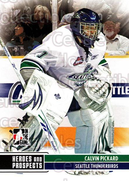 2009-10 ITG Heroes and Prospects #133 Calvin Pickard<br/>15 In Stock - $1.00 each - <a href=https://centericecollectibles.foxycart.com/cart?name=2009-10%20ITG%20Heroes%20and%20Prospects%20%23133%20Calvin%20Pickard...&price=$1.00&code=250717 class=foxycart> Buy it now! </a>