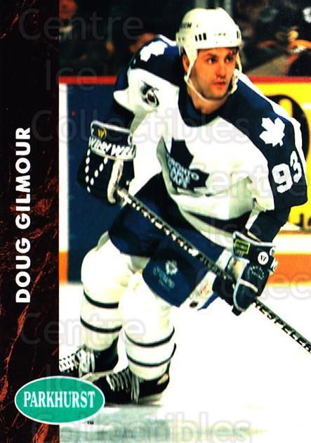1991-92 Parkhurst #396 Doug Gilmour<br/>1 In Stock - $1.00 each - <a href=https://centericecollectibles.foxycart.com/cart?name=1991-92%20Parkhurst%20%23396%20Doug%20Gilmour...&quantity_max=1&price=$1.00&code=250805 class=foxycart> Buy it now! </a>