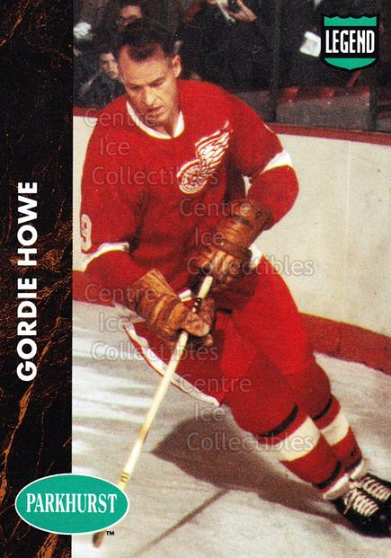 1991-92 Parkhurst PHC #1 Gordie Howe<br/>3 In Stock - $2.00 each - <a href=https://centericecollectibles.foxycart.com/cart?name=1991-92%20Parkhurst%20PHC%20%231%20Gordie%20Howe...&price=$2.00&code=250818 class=foxycart> Buy it now! </a>