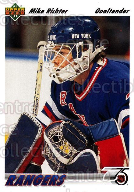 1991-92 Upper Deck #175 Mike Richter<br/>7 In Stock - $1.00 each - <a href=https://centericecollectibles.foxycart.com/cart?name=1991-92%20Upper%20Deck%20%23175%20Mike%20Richter...&quantity_max=7&price=$1.00&code=250846 class=foxycart> Buy it now! </a>