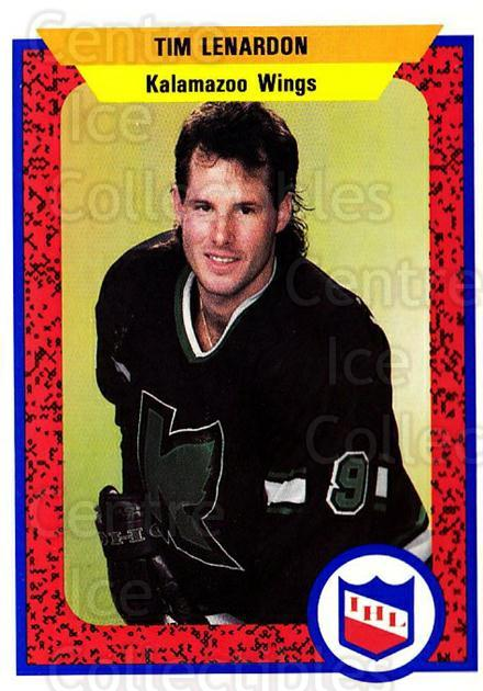 1991-92 ProCards AHL IHL #149 Tim Lenardon<br/>1 In Stock - $2.00 each - <a href=https://centericecollectibles.foxycart.com/cart?name=1991-92%20ProCards%20AHL%20IHL%20%23149%20Tim%20Lenardon...&quantity_max=1&price=$2.00&code=250976 class=foxycart> Buy it now! </a>