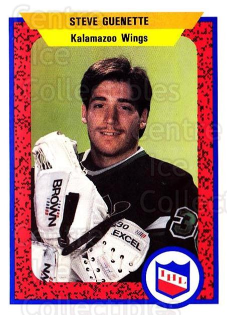 1991-92 ProCards AHL IHL #150 Steve Guenette<br/>1 In Stock - $2.00 each - <a href=https://centericecollectibles.foxycart.com/cart?name=1991-92%20ProCards%20AHL%20IHL%20%23150%20Steve%20Guenette...&quantity_max=1&price=$2.00&code=250977 class=foxycart> Buy it now! </a>