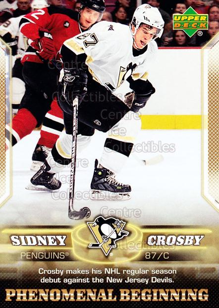 2005-06 UD Sidney Crosby Phenomenal Beginning Gold #2 Sidney Crosby<br/>1 In Stock - $3.00 each - <a href=https://centericecollectibles.foxycart.com/cart?name=2005-06%20UD%20Sidney%20Crosby%20Phenomenal%20Beginning%20Gold%20%232%20Sidney%20Crosby...&quantity_max=1&price=$3.00&code=251211 class=foxycart> Buy it now! </a>