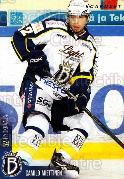 2010-11 Finnish Cardset #9 Camilo Miettinen<br/>1 In Stock - $2.00 each - <a href=https://centericecollectibles.foxycart.com/cart?name=2010-11%20Finnish%20Cardset%20%239%20Camilo%20Miettine...&quantity_max=1&price=$2.00&code=251288 class=foxycart> Buy it now! </a>