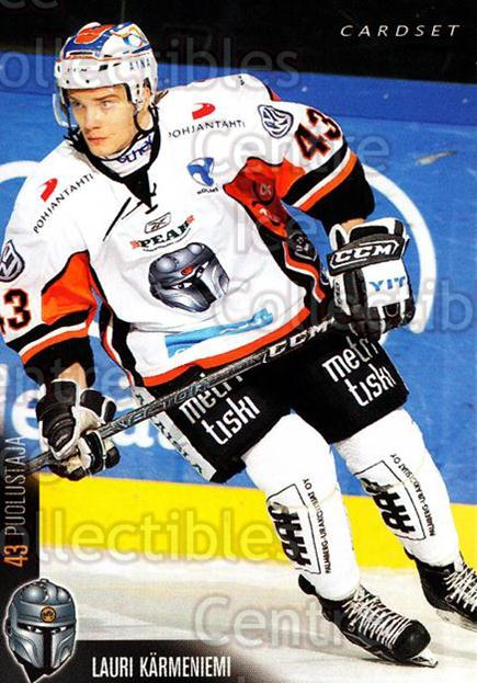 2010-11 Finnish Cardset #27 Lauri Karmeniemi<br/>1 In Stock - $2.00 each - <a href=https://centericecollectibles.foxycart.com/cart?name=2010-11%20Finnish%20Cardset%20%2327%20Lauri%20Karmeniem...&quantity_max=1&price=$2.00&code=251306 class=foxycart> Buy it now! </a>