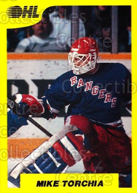 1989-90 7th Inning Sketch OHL #192 Mike Torchia<br/>3 In Stock - $2.00 each - <a href=https://centericecollectibles.foxycart.com/cart?name=1989-90%207th%20Inning%20Sketch%20OHL%20%23192%20Mike%20Torchia...&quantity_max=3&price=$2.00&code=251510 class=foxycart> Buy it now! </a>