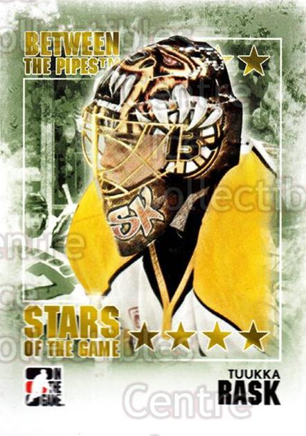 2009-10 Between The Pipes #94 Tuukka Rask<br/>4 In Stock - $1.00 each - <a href=https://centericecollectibles.foxycart.com/cart?name=2009-10%20Between%20The%20Pipes%20%2394%20Tuukka%20Rask...&price=$1.00&code=251613 class=foxycart> Buy it now! </a>