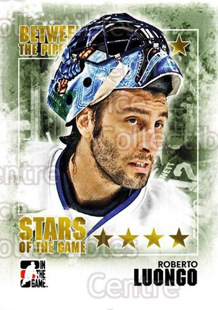 2009-10 Between The Pipes #99 Roberto Luongo<br/>5 In Stock - $1.00 each - <a href=https://centericecollectibles.foxycart.com/cart?name=2009-10%20Between%20The%20Pipes%20%2399%20Roberto%20Luongo...&price=$1.00&code=251618 class=foxycart> Buy it now! </a>