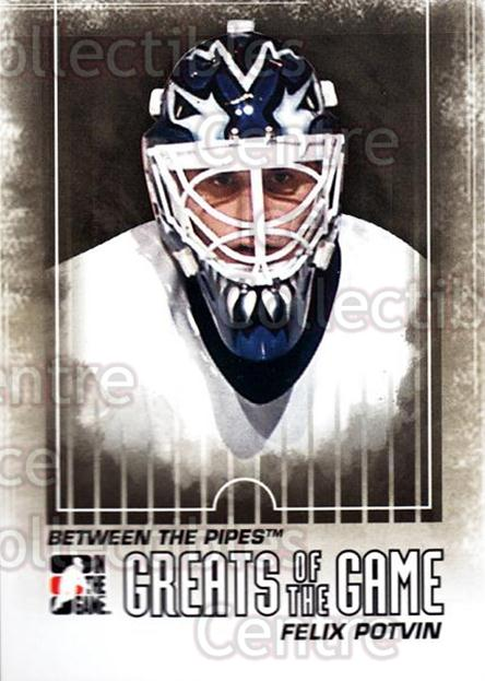 2009-10 Between The Pipes #119 Felix Potvin<br/>4 In Stock - $1.00 each - <a href=https://centericecollectibles.foxycart.com/cart?name=2009-10%20Between%20The%20Pipes%20%23119%20Felix%20Potvin...&price=$1.00&code=251638 class=foxycart> Buy it now! </a>
