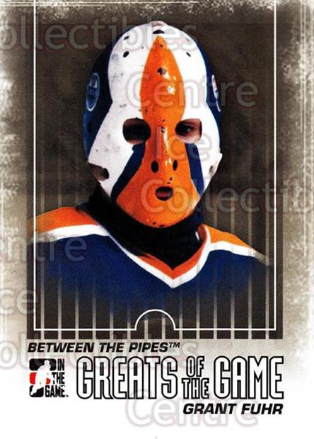 2009-10 Between The Pipes #124 Grant Fuhr<br/>4 In Stock - $1.00 each - <a href=https://centericecollectibles.foxycart.com/cart?name=2009-10%20Between%20The%20Pipes%20%23124%20Grant%20Fuhr...&price=$1.00&code=251643 class=foxycart> Buy it now! </a>