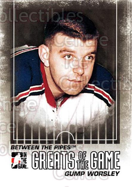 2009-10 Between The Pipes #125 Gump Worsley<br/>5 In Stock - $1.00 each - <a href=https://centericecollectibles.foxycart.com/cart?name=2009-10%20Between%20The%20Pipes%20%23125%20Gump%20Worsley...&price=$1.00&code=251644 class=foxycart> Buy it now! </a>