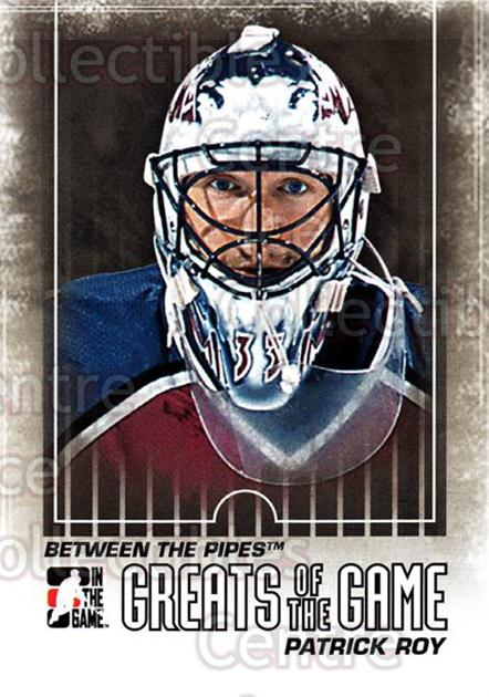 2009-10 Between The Pipes #131 Patrick Roy<br/>2 In Stock - $2.00 each - <a href=https://centericecollectibles.foxycart.com/cart?name=2009-10%20Between%20The%20Pipes%20%23131%20Patrick%20Roy...&price=$2.00&code=251650 class=foxycart> Buy it now! </a>