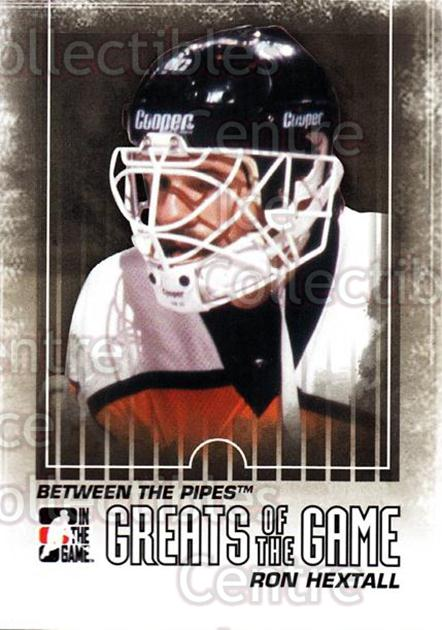 2009-10 Between The Pipes #136 Ron Hextall<br/>5 In Stock - $1.00 each - <a href=https://centericecollectibles.foxycart.com/cart?name=2009-10%20Between%20The%20Pipes%20%23136%20Ron%20Hextall...&price=$1.00&code=251655 class=foxycart> Buy it now! </a>