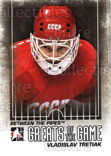 2009-10 Between The Pipes #140 Vladislav Tretiak<br/>4 In Stock - $2.00 each - <a href=https://centericecollectibles.foxycart.com/cart?name=2009-10%20Between%20The%20Pipes%20%23140%20Vladislav%20Treti...&price=$2.00&code=251659 class=foxycart> Buy it now! </a>