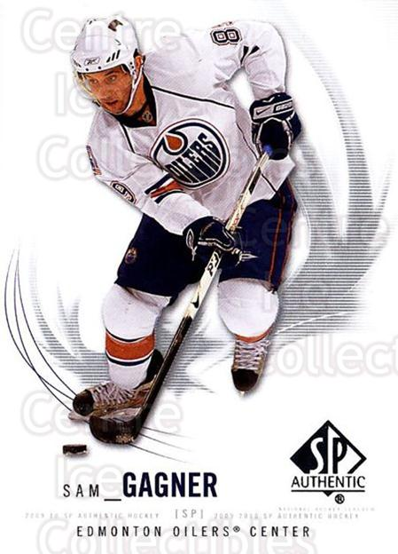 2009-10 SP Authentic #31 Sam Gagner<br/>5 In Stock - $1.00 each - <a href=https://centericecollectibles.foxycart.com/cart?name=2009-10%20SP%20Authentic%20%2331%20Sam%20Gagner...&quantity_max=5&price=$1.00&code=251700 class=foxycart> Buy it now! </a>