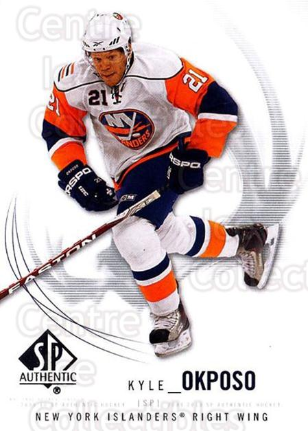 2009-10 SP Authentic #67 Kyle Okposo<br/>6 In Stock - $1.00 each - <a href=https://centericecollectibles.foxycart.com/cart?name=2009-10%20SP%20Authentic%20%2367%20Kyle%20Okposo...&quantity_max=6&price=$1.00&code=251736 class=foxycart> Buy it now! </a>
