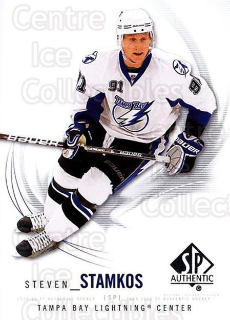 2009-10 SP Authentic #79 Steven Stamkos<br/>4 In Stock - $2.00 each - <a href=https://centericecollectibles.foxycart.com/cart?name=2009-10%20SP%20Authentic%20%2379%20Steven%20Stamkos...&quantity_max=4&price=$2.00&code=251748 class=foxycart> Buy it now! </a>