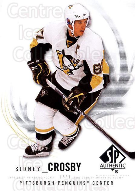 2009-10 SP Authentic #87 Sidney Crosby<br/>3 In Stock - $3.00 each - <a href=https://centericecollectibles.foxycart.com/cart?name=2009-10%20SP%20Authentic%20%2387%20Sidney%20Crosby...&quantity_max=3&price=$3.00&code=251756 class=foxycart> Buy it now! </a>