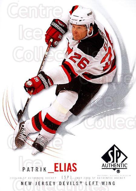 2009-10 SP Authentic #89 Patrik Elias<br/>6 In Stock - $1.00 each - <a href=https://centericecollectibles.foxycart.com/cart?name=2009-10%20SP%20Authentic%20%2389%20Patrik%20Elias...&quantity_max=6&price=$1.00&code=251758 class=foxycart> Buy it now! </a>