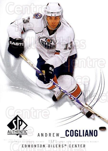 2009-10 SP Authentic #92 Andrew Cogliano<br/>5 In Stock - $1.00 each - <a href=https://centericecollectibles.foxycart.com/cart?name=2009-10%20SP%20Authentic%20%2392%20Andrew%20Cogliano...&quantity_max=5&price=$1.00&code=251761 class=foxycart> Buy it now! </a>