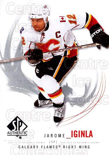 2009-10 SP Authentic #96 Jarome Iginla<br/>6 In Stock - $1.00 each - <a href=https://centericecollectibles.foxycart.com/cart?name=2009-10%20SP%20Authentic%20%2396%20Jarome%20Iginla...&quantity_max=6&price=$1.00&code=251765 class=foxycart> Buy it now! </a>
