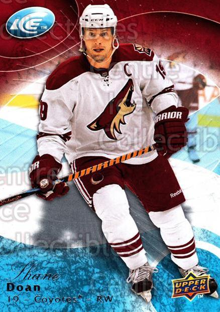 2009-10 UD Ice #94 Shane Doan<br/>8 In Stock - $1.00 each - <a href=https://centericecollectibles.foxycart.com/cart?name=2009-10%20UD%20Ice%20%2394%20Shane%20Doan...&quantity_max=8&price=$1.00&code=251863 class=foxycart> Buy it now! </a>