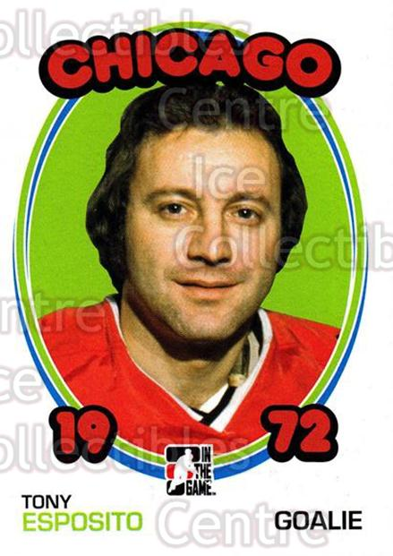 2009-10 ITG 1972 The Year In Hockey #60 Tony Esposito<br/>25 In Stock - $2.00 each - <a href=https://centericecollectibles.foxycart.com/cart?name=2009-10%20ITG%201972%20The%20Year%20In%20Hockey%20%2360%20Tony%20Esposito...&quantity_max=25&price=$2.00&code=251929 class=foxycart> Buy it now! </a>