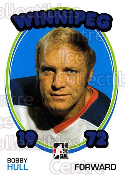2009-10 ITG 1972 The Year In Hockey #124 Bobby Hull<br/>1 In Stock - $2.00 each - <a href=https://centericecollectibles.foxycart.com/cart?name=2009-10%20ITG%201972%20The%20Year%20In%20Hockey%20%23124%20Bobby%20Hull...&quantity_max=1&price=$2.00&code=251993 class=foxycart> Buy it now! </a>