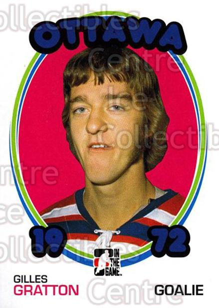 2009-10 ITG 1972 The Year In Hockey #130 Gilles Gratton<br/>19 In Stock - $1.00 each - <a href=https://centericecollectibles.foxycart.com/cart?name=2009-10%20ITG%201972%20The%20Year%20In%20Hockey%20%23130%20Gilles%20Gratton...&quantity_max=19&price=$1.00&code=251999 class=foxycart> Buy it now! </a>