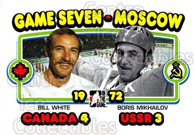 2009-10 ITG 1972 The Year In Hockey #196 Bill White, Boris Mikhailov<br/>16 In Stock - $1.00 each - <a href=https://centericecollectibles.foxycart.com/cart?name=2009-10%20ITG%201972%20The%20Year%20In%20Hockey%20%23196%20Bill%20White,%20Bor...&quantity_max=16&price=$1.00&code=252065 class=foxycart> Buy it now! </a>