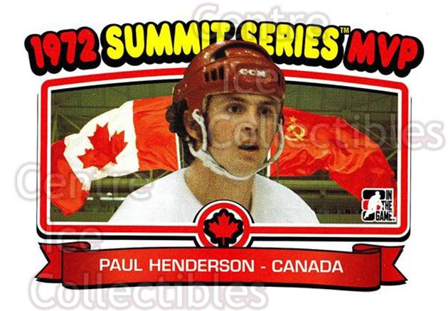2009-10 ITG 1972 The Year In Hockey #198 Paul Henderson<br/>14 In Stock - $2.00 each - <a href=https://centericecollectibles.foxycart.com/cart?name=2009-10%20ITG%201972%20The%20Year%20In%20Hockey%20%23198%20Paul%20Henderson...&quantity_max=14&price=$2.00&code=252067 class=foxycart> Buy it now! </a>