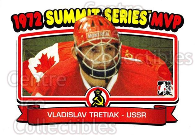 2009-10 ITG 1972 The Year In Hockey #199 Vladislav Tretiak<br/>9 In Stock - $2.00 each - <a href=https://centericecollectibles.foxycart.com/cart?name=2009-10%20ITG%201972%20The%20Year%20In%20Hockey%20%23199%20Vladislav%20Treti...&quantity_max=9&price=$2.00&code=252068 class=foxycart> Buy it now! </a>
