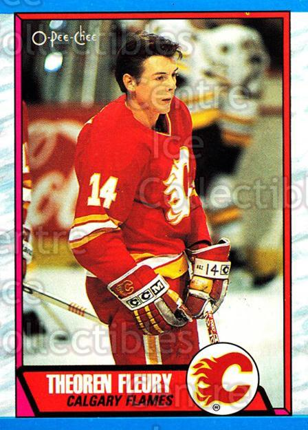1989-90 O-Pee-Chee #232 Theo Fleury<br/>35 In Stock - $3.00 each - <a href=https://centericecollectibles.foxycart.com/cart?name=1989-90%20O-Pee-Chee%20%23232%20Theo%20Fleury...&price=$3.00&code=252086 class=foxycart> Buy it now! </a>