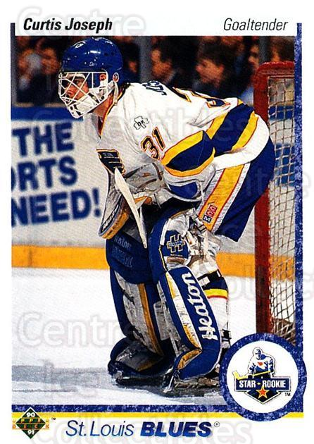 1990-91 Upper Deck #175 Curtis Joseph<br/>1 In Stock - $2.00 each - <a href=https://centericecollectibles.foxycart.com/cart?name=1990-91%20Upper%20Deck%20%23175%20Curtis%20Joseph...&quantity_max=1&price=$2.00&code=252110 class=foxycart> Buy it now! </a>