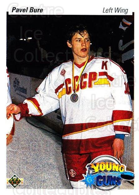 1990-91 Upper Deck #526 Pavel Bure<br/>11 In Stock - $5.00 each - <a href=https://centericecollectibles.foxycart.com/cart?name=1990-91%20Upper%20Deck%20%23526%20Pavel%20Bure...&quantity_max=11&price=$5.00&code=252116 class=foxycart> Buy it now! </a>