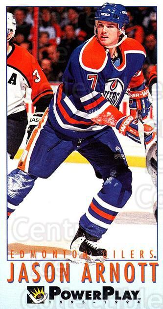 1993-94 PowerPlay #337 Jason Arnott<br/>5 In Stock - $1.00 each - <a href=https://centericecollectibles.foxycart.com/cart?name=1993-94%20PowerPlay%20%23337%20Jason%20Arnott...&quantity_max=5&price=$1.00&code=252124 class=foxycart> Buy it now! </a>