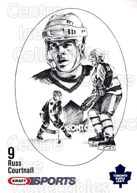 1986-87 Kraft Drawings #12 Russ Courtnall<br/>11 In Stock - $2.00 each - <a href=https://centericecollectibles.foxycart.com/cart?name=1986-87%20Kraft%20Drawings%20%2312%20Russ%20Courtnall...&quantity_max=11&price=$2.00&code=25218 class=foxycart> Buy it now! </a>