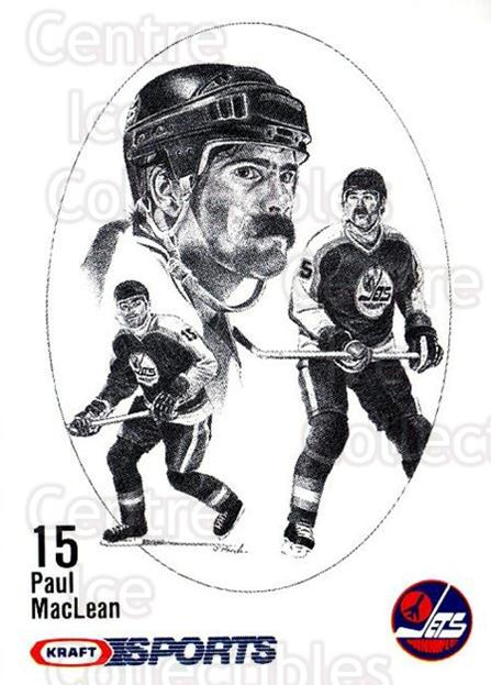 1986-87 Kraft Drawings #38 Paul MacLean<br/>14 In Stock - $2.00 each - <a href=https://centericecollectibles.foxycart.com/cart?name=1986-87%20Kraft%20Drawings%20%2338%20Paul%20MacLean...&quantity_max=14&price=$2.00&code=25243 class=foxycart> Buy it now! </a>