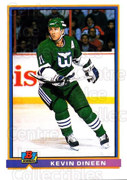 1991-92 Bowman #6 Kevin Dineen<br/>2 In Stock - $1.00 each - <a href=https://centericecollectibles.foxycart.com/cart?name=1991-92%20Bowman%20%236%20Kevin%20Dineen...&quantity_max=2&price=$1.00&code=252620 class=foxycart> Buy it now! </a>