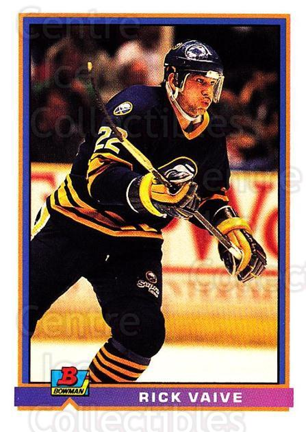 1991-92 Bowman #39 Rick Vaive<br/>3 In Stock - $1.00 each - <a href=https://centericecollectibles.foxycart.com/cart?name=1991-92%20Bowman%20%2339%20Rick%20Vaive...&quantity_max=3&price=$1.00&code=252653 class=foxycart> Buy it now! </a>