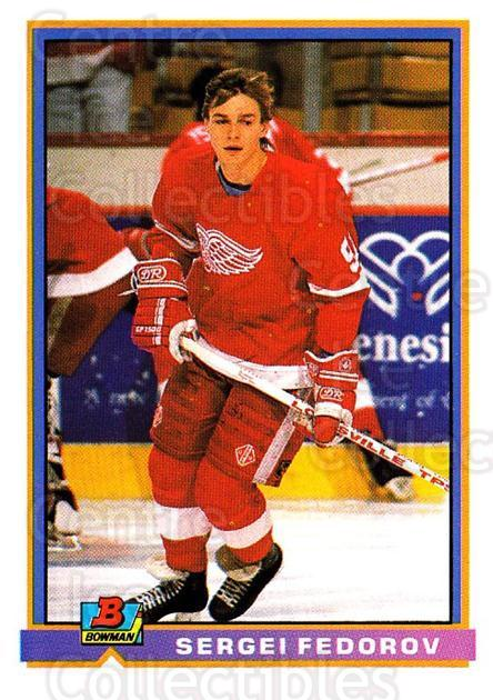 1991-92 Bowman #50 Sergei Fedorov<br/>2 In Stock - $1.00 each - <a href=https://centericecollectibles.foxycart.com/cart?name=1991-92%20Bowman%20%2350%20Sergei%20Fedorov...&quantity_max=2&price=$1.00&code=252664 class=foxycart> Buy it now! </a>