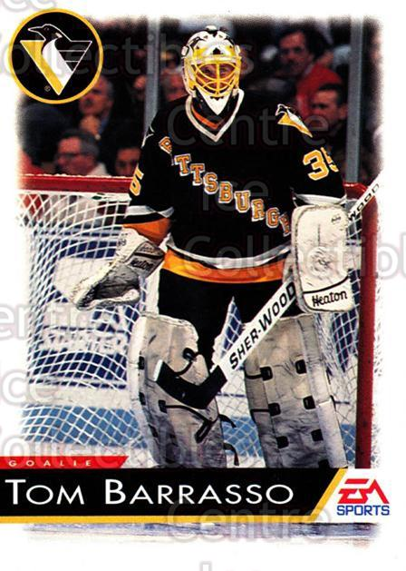 1994 EA Sports #108 Tom Barrasso<br/>4 In Stock - $1.00 each - <a href=https://centericecollectibles.foxycart.com/cart?name=1994%20EA%20Sports%20%23108%20Tom%20Barrasso...&quantity_max=4&price=$1.00&code=2528 class=foxycart> Buy it now! </a>