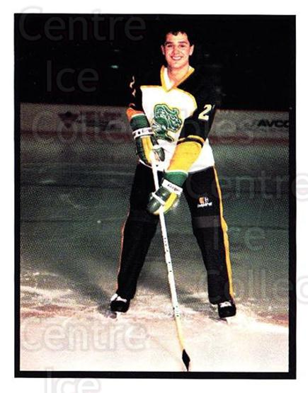 1986-87 London Knights #11 Jason Simon<br/>2 In Stock - $3.00 each - <a href=https://centericecollectibles.foxycart.com/cart?name=1986-87%20London%20Knights%20%2311%20Jason%20Simon...&quantity_max=2&price=$3.00&code=25290 class=foxycart> Buy it now! </a>