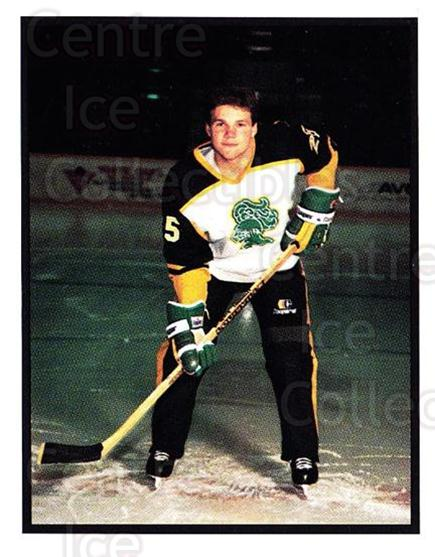 1986-87 London Knights #21 Trevor Dam<br/>5 In Stock - $3.00 each - <a href=https://centericecollectibles.foxycart.com/cart?name=1986-87%20London%20Knights%20%2321%20Trevor%20Dam...&quantity_max=5&price=$3.00&code=25300 class=foxycart> Buy it now! </a>